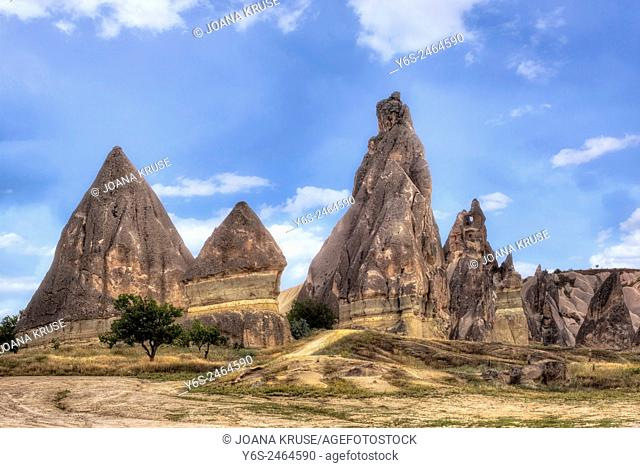 Goereme, Cappadocia, Anatolia, Tuerkey