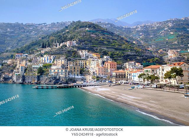 Minori, Amalfi Coast, Campania, Italy