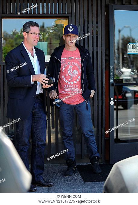 Hayden Christensen has lunch at Katsu-ya in Los Angeles Featuring: Hayden Christensen Where: Los Angeles, California, United States When: 13 Aug 2014 Credit:...
