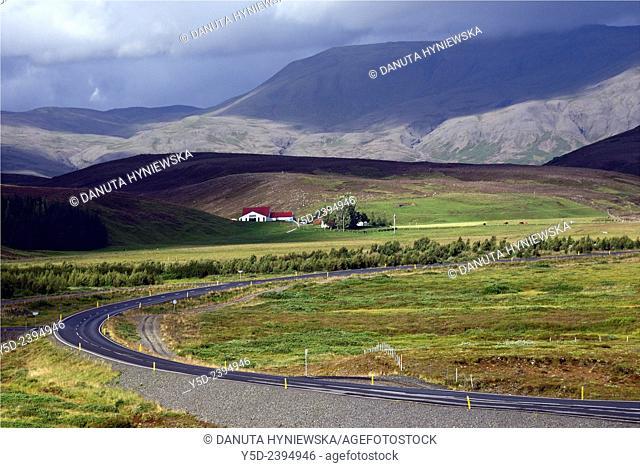 deserted farm near road number 360, Thingvellir, Iceland