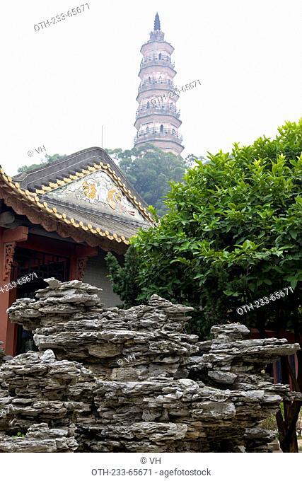 Shenfeng Shan Tourist Center at Shunde, Guangdong, China