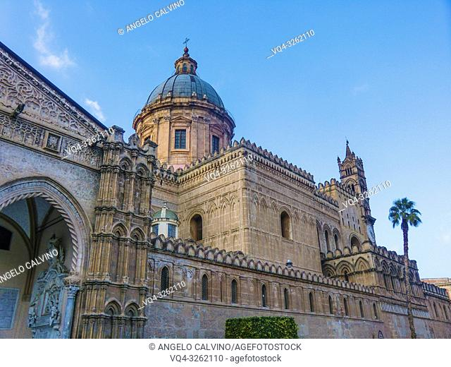 Palermo Cathedral, Roman Catholic Archdiocese of Palermo, Palermo, Sicily, Italy