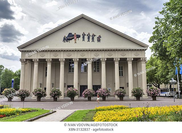 Konzerthaus (1915), Concert hall, Karlsruhe, Baden-Wurttemberg, Germany