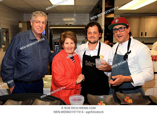 Portuguese Chefs Worldwide at Kanopi in White Plains on 7-20-17. Featuring: Tim Zagat, Nina Zagat, Chef Joao Rodrigues and Chef Anthony Goncalves Where: White...