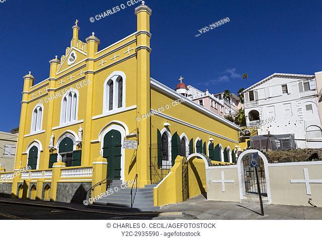 Charlotte Amalie, St. Thomas, U. S. Virgin Islands. Saints Peter and Paul Catholic Cathedral