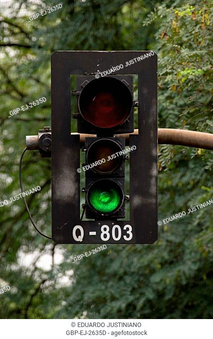Signalling of Traffic, Traffic light, Brazil