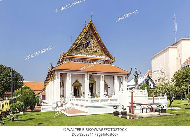 Thailand, Bangkok, National Museum of Bangkok, Buddhaisawan Chapel, exterior