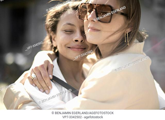 friends enjoying togetherness