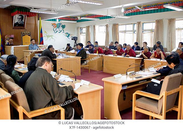 Assembly of Tibetan People's Deputies, Dharamsala, Himachal Pradesh state, India, Asia