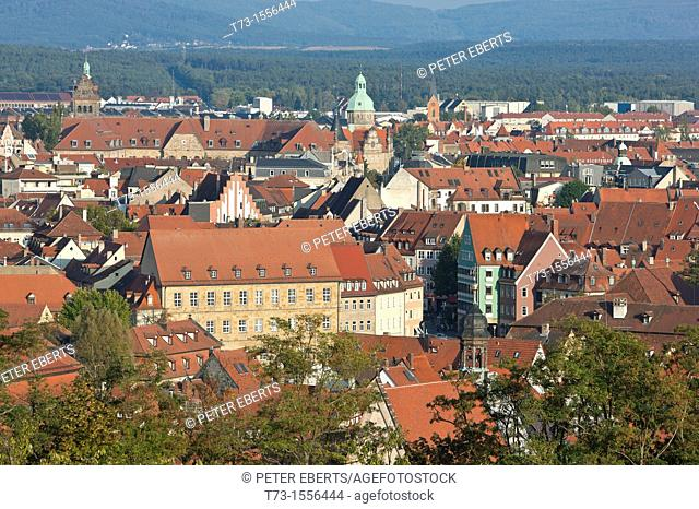 St  Michael-View from Terrace to Bamberg