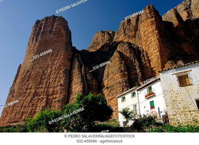 Riglos. Huesca province, Aragón. Spain