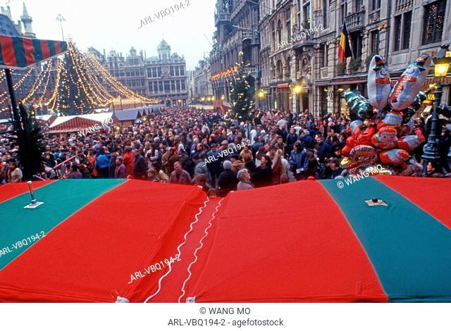 Belgium,Brussels Grand Place