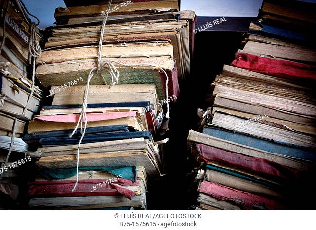 old books, India, Asia