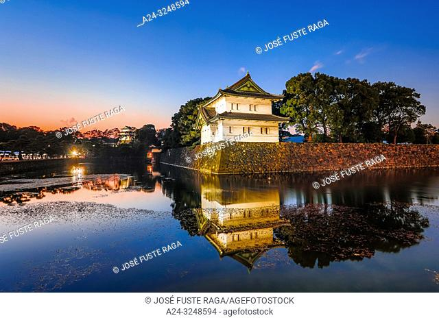 Japan,, Tokyo City, The Imperial Palace
