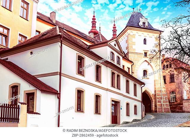 Princely Gate, Zatec, Northern Bohemia, Czech Republic, Europe