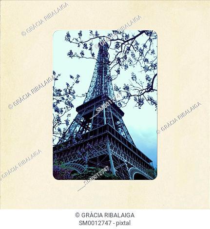 The Eiffel Tower, Paris, France
