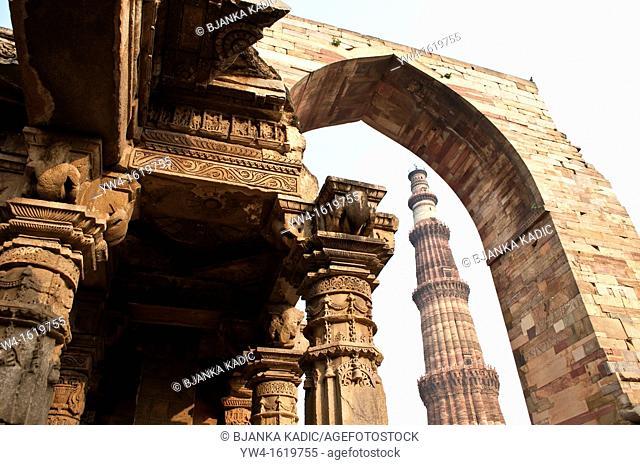 Qutb Minar Complex, New Delhi, India