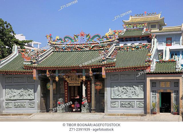Vietnam, Ho Chi Minh City, Cholon, Tam Son Hoi Quan Pagoda,