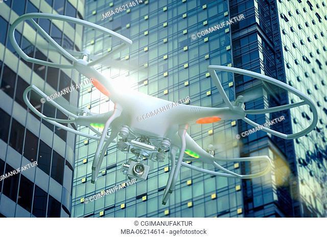 Canada, Vancouver, CGI, 3D, drone, surveillance, [M]