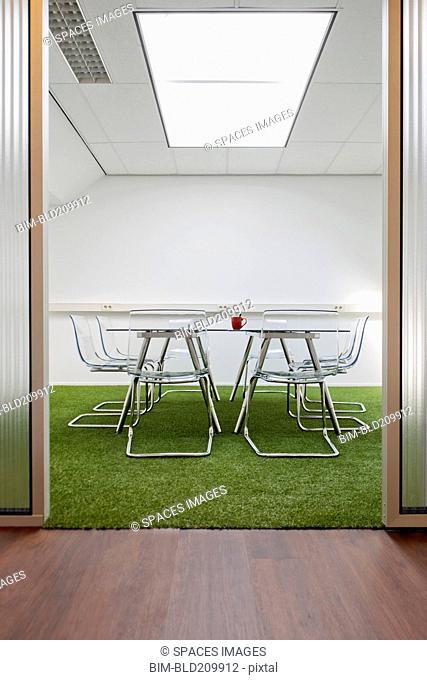 Modern meeting room in office
