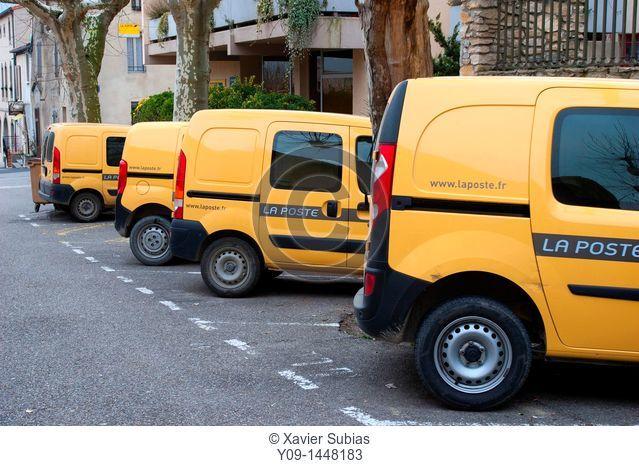 Mail Van, France