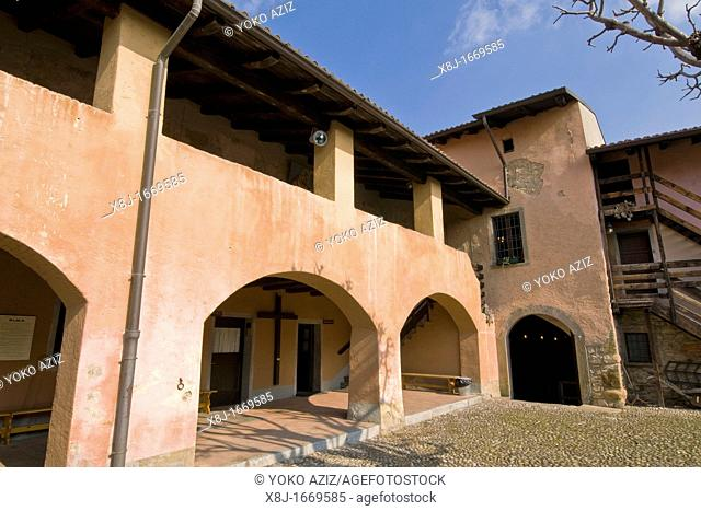 Birthplace of Pope John, XXIII Sotto il Monte, Lombardy, Italy