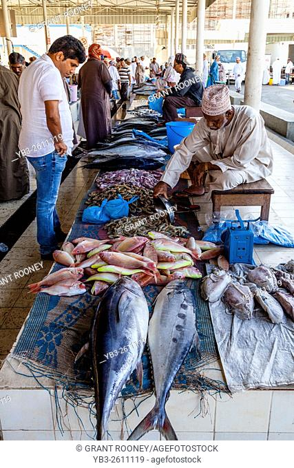 The Fish Market At Muttrah, Muscat, Sultanate Of Oman