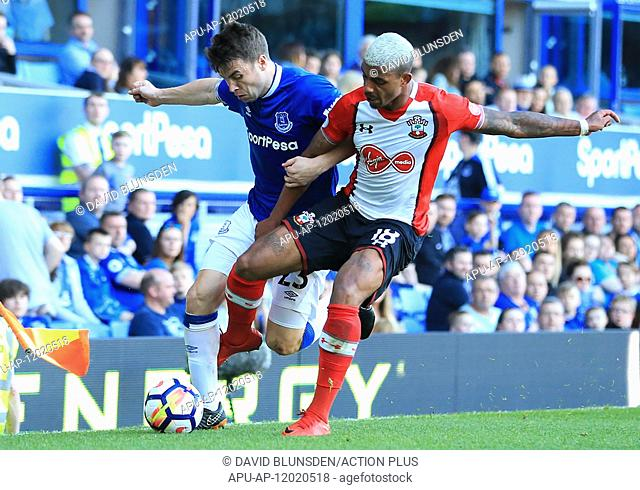 2018 EPL Premier League Football Everton v Southampton May 5th. 5th May 2018, Goodison Park, Liverpool, England; EPL Premier League Football
