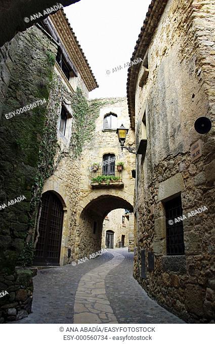 Pals, Baix Emporda, Girona province, Catalonia, Spain