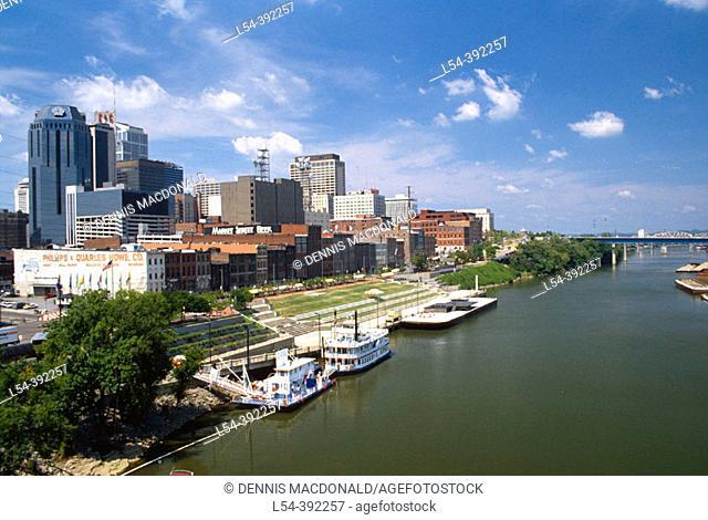 Nashville skyline. Tennessee, USA