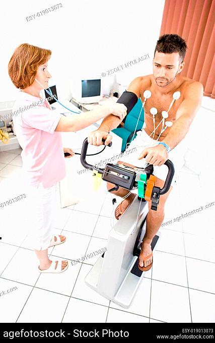 Nurse working