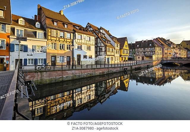 Little Venice. Colmar. Alsace. Grand Est. France