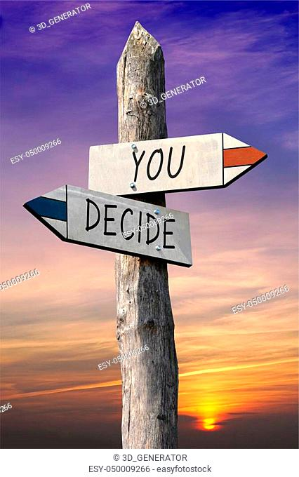 Wooden crossroad sign Stock Photos and Images | age fotostock