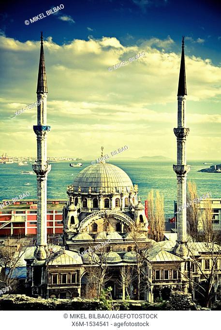 Nusretiye mosque  Istanbul, Turkey
