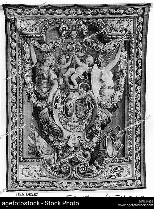 Portière des Renommées. Manufactory: Manufacture Nationale des Gobelins (French, established 1662); Date: late 17th century; Culture: French