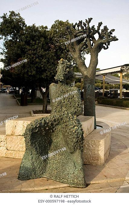 Statue des Kalifront