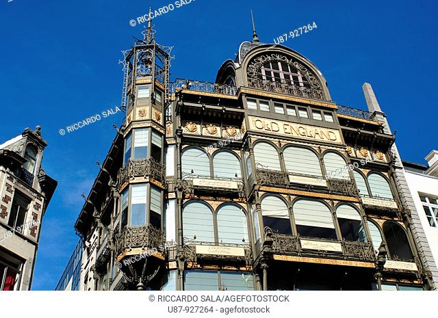 Belgium, Brussels, Old England Department Store, a Musical Instrument Museum