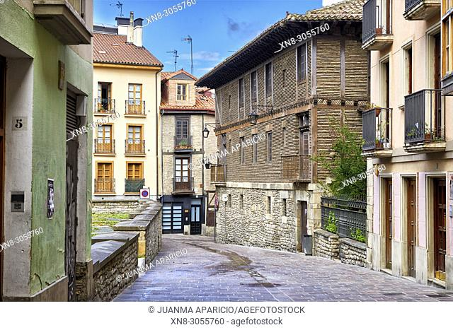 Calle Chiquita, Vitoria, Gasteiz, Álava, Basque Country, Euskadi, Euskal Herria, Spain