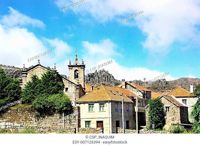 Castro Laboreiro village,natural park of peneda geres