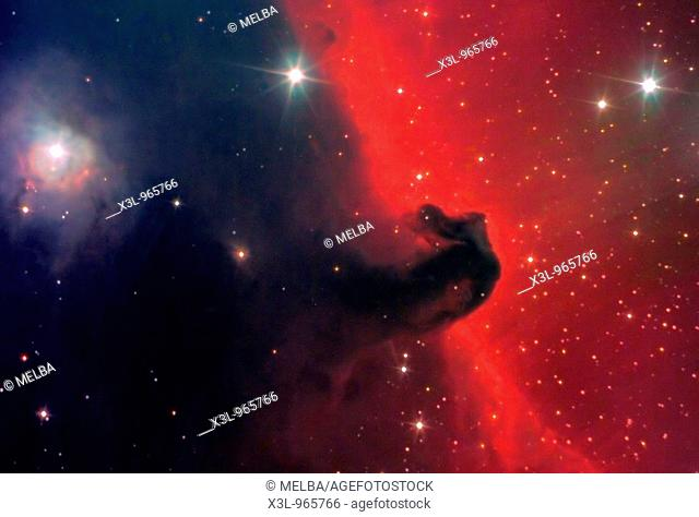 Horsehead nebula in Orion Constellation