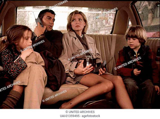 Tage Wie Dieser, One Fine Day, Tage Wie Dieser, One Fine Day, Maggie (Mae Whitman, Jack (George Clooney), Melanie (Michelle Pfeiffer), Sammy (Alex D