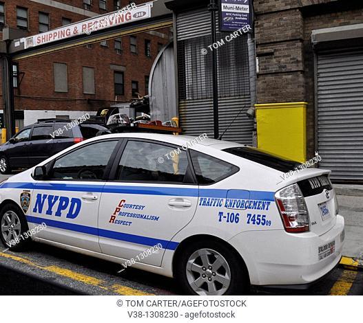 New York Police Traffic enforcement unit