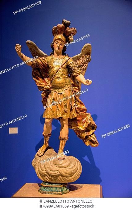 Europe, Portugal, Lisbon, Estrela, National Museum of Ancient Art, St.Michel