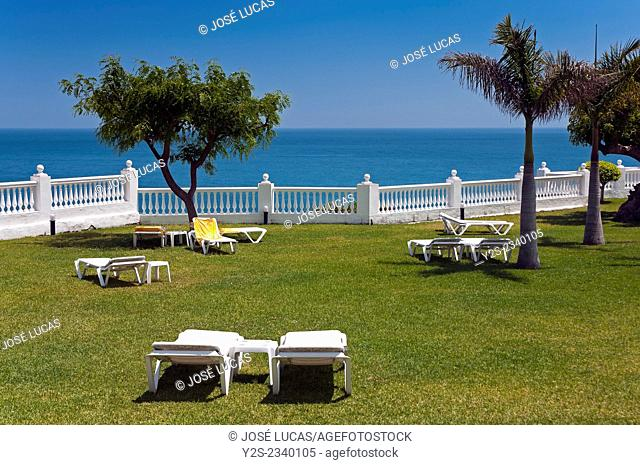 Parador de Turismo, Burriana beach, Nerja, Malaga province, Region of Andalusia, Spain, Europe