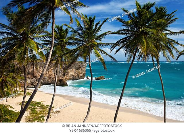 Beautiful Bottom Bay, southeast corner of Barbados, West Indies