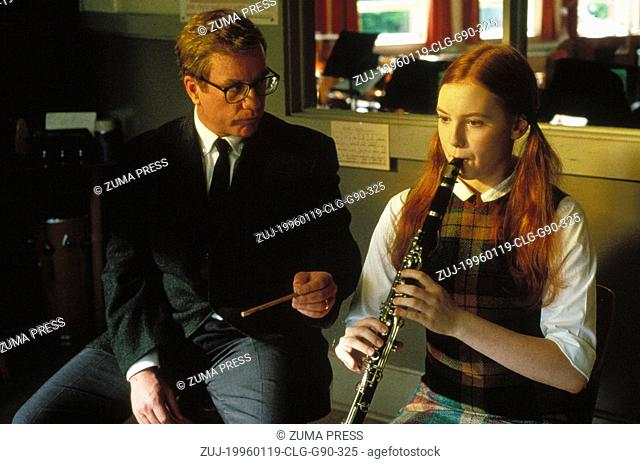 Jan 19, 1996; Portland, OR, USA; Actor RICHARD DREYFUSS stars as Glenn Holland and ALICIA WITT as Gertrude Lang in the Stephen Herek directed music drama, 'Mr