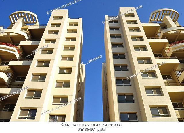 Top view of Building, Poona, Maharashtra, India