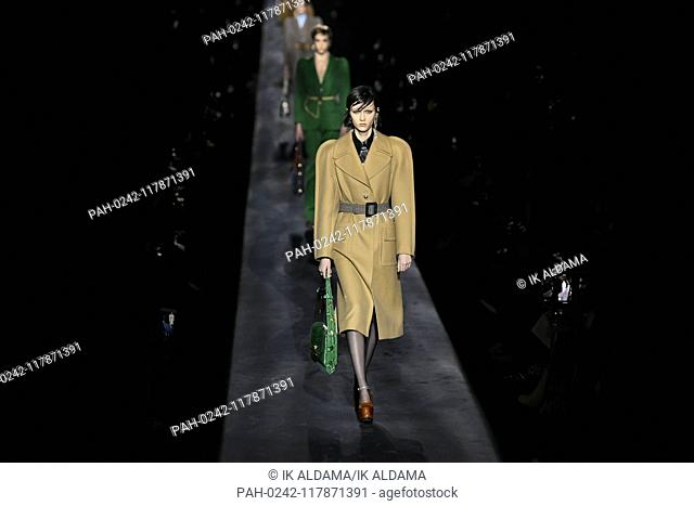 GIVENCHY runway show during Paris Fashion Week, AW19, Autumn Winter 2019 collection - Paris, France 03/03/2019   usage worldwide. - Paris/France