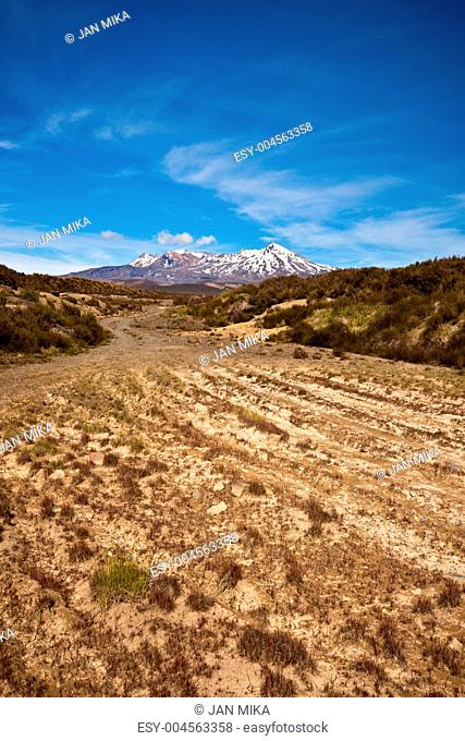 Way to Mt Ruapehu