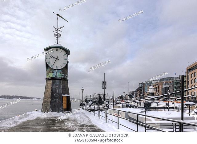 Oslo, Aker Brygge, Norway, Europe